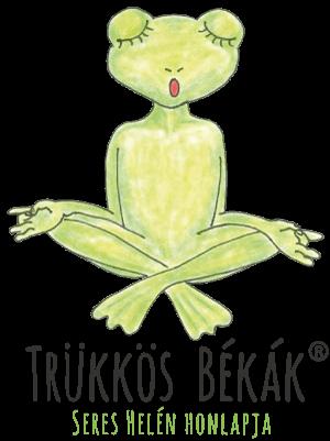 Trükkös Békák – Fejlesztés, torna, stresszoldás gyermekeknek Logo